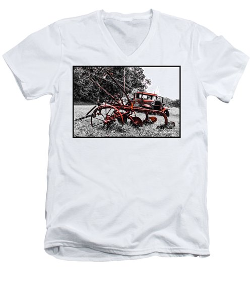 Old And  Rusty Men's V-Neck T-Shirt