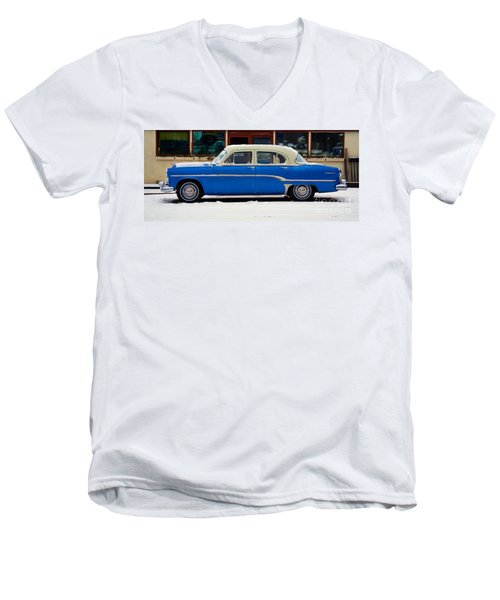 Old Blue Men's V-Neck T-Shirt