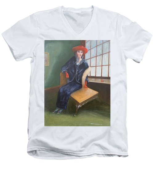 Old Chicago Men's V-Neck T-Shirt