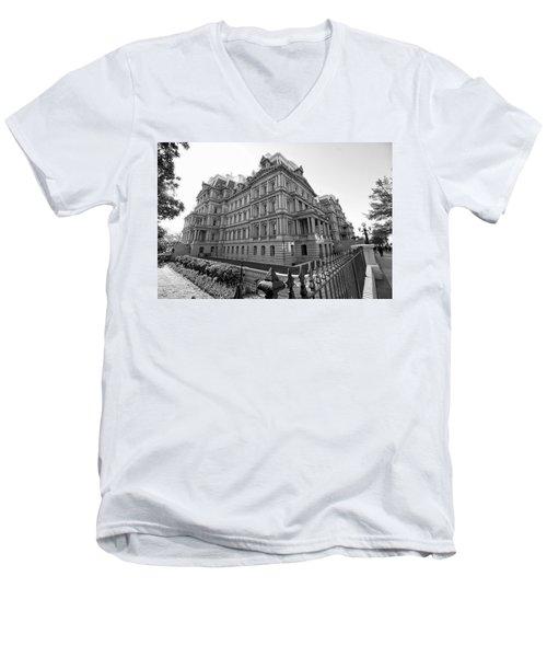 Old Executive Office Building Men's V-Neck T-Shirt