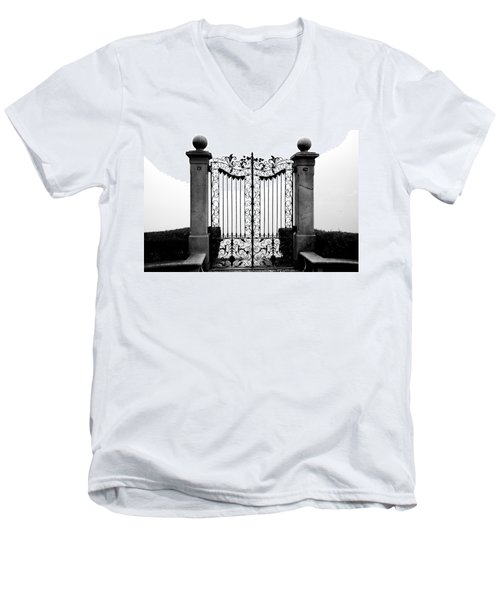 Old Gate Men's V-Neck T-Shirt