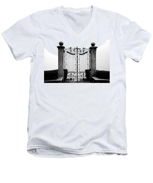 Old Gate Men's V-Neck T-Shirt