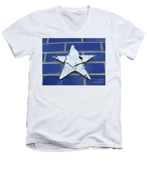 Old Glorys Star Men's V-Neck T-Shirt