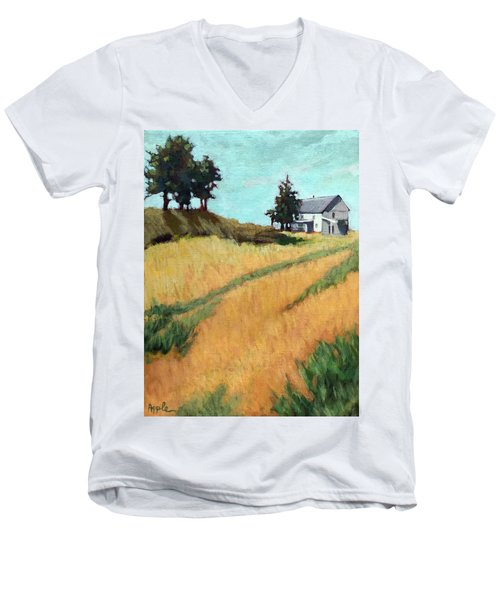 Old House On The Hill Men's V-Neck T-Shirt