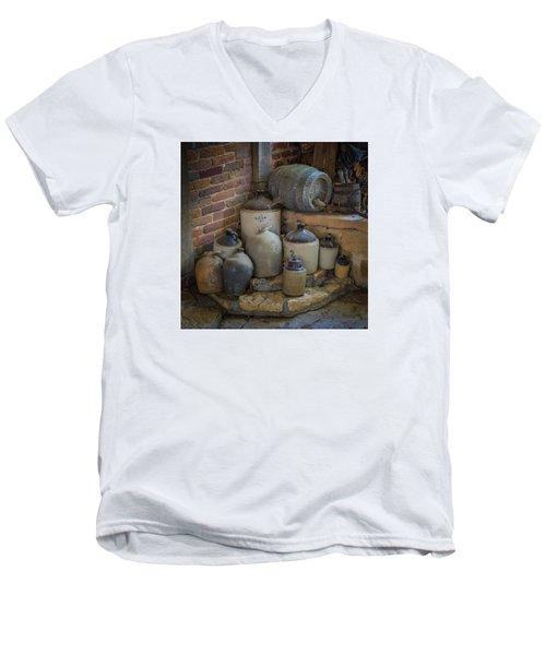 Old Jugs Color - Dsc08891 Men's V-Neck T-Shirt