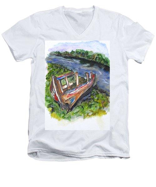 Old Memory Men's V-Neck T-Shirt
