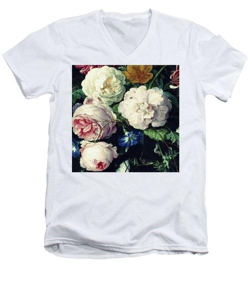Old Time Botanical Men's V-Neck T-Shirt