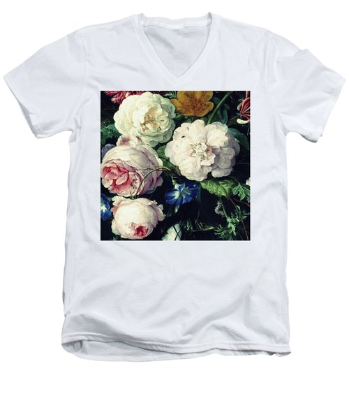 Old Time Botanical Men's V-Neck T-Shirt