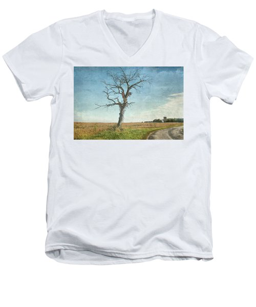 Old Tree  Men's V-Neck T-Shirt by Betty Pauwels