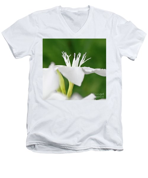 Oleander Ed Barr 2 Men's V-Neck T-Shirt