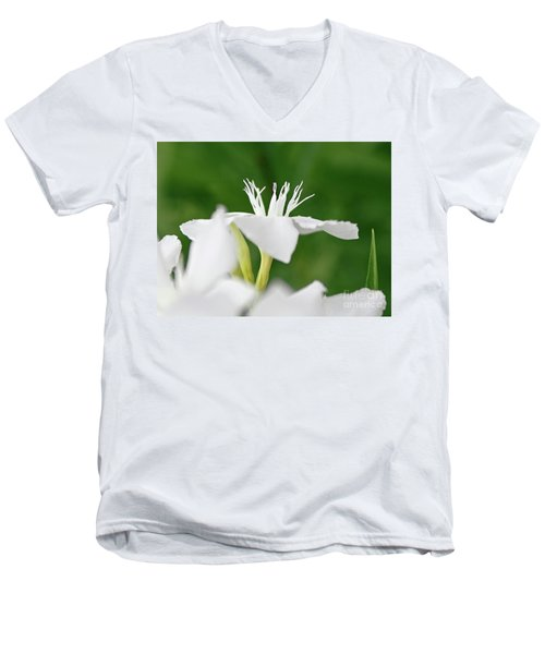 Oleander Ed Barr 1 Men's V-Neck T-Shirt