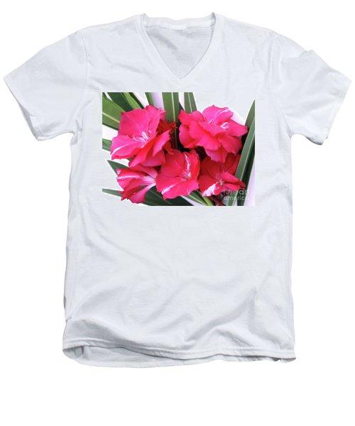 Oleander Geant Des Batailles 1 Men's V-Neck T-Shirt