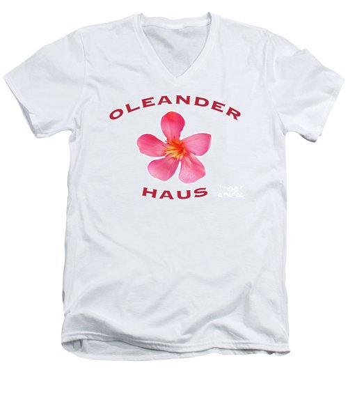 Oleander Haus Men's V-Neck T-Shirt