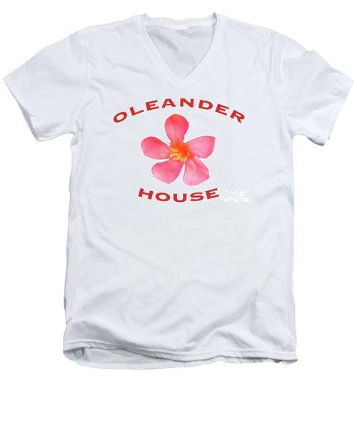 Oleander House Men's V-Neck T-Shirt