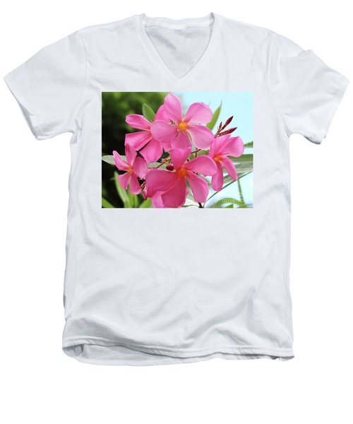 Oleander Maresciallo Graziani 1 Men's V-Neck T-Shirt