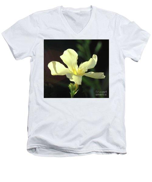 Oleander Marie Gambetta 1 Men's V-Neck T-Shirt by Wilhelm Hufnagl