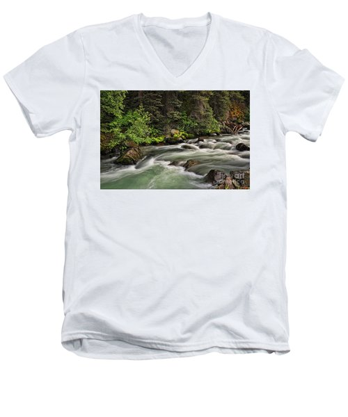 On Henson Creek Men's V-Neck T-Shirt