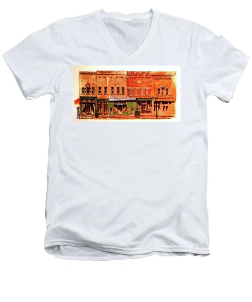 On Market Square Men's V-Neck T-Shirt