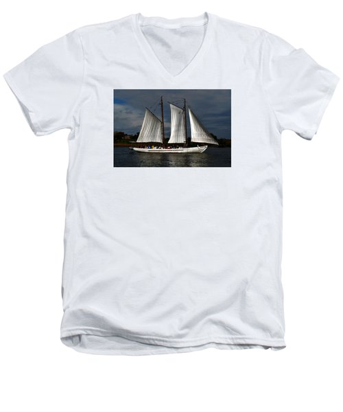 The A. J. Meerwald Men's V-Neck T-Shirt