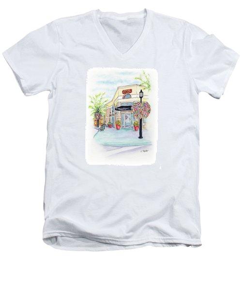 On The Corner Men's V-Neck T-Shirt