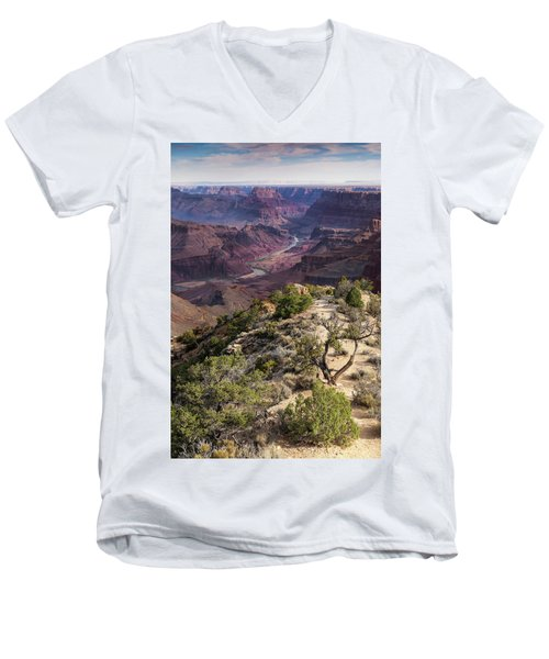 Looking Out The Front Door Men's V-Neck T-Shirt