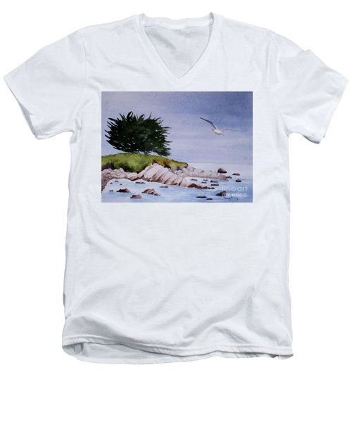 On The Lookout Men's V-Neck T-Shirt