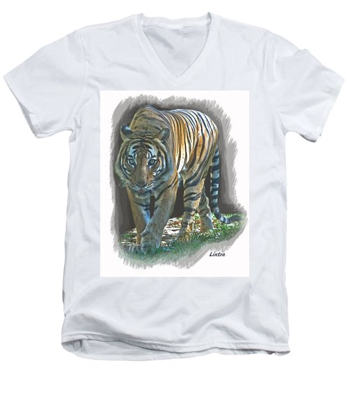 On The Prowl Men's V-Neck T-Shirt