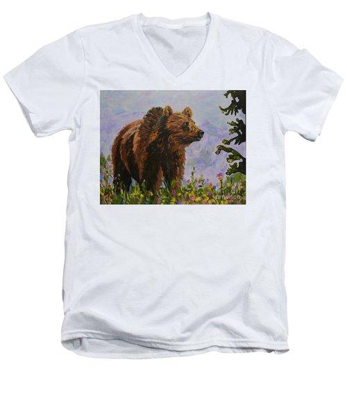 On The Prowl Men's V-Neck T-Shirt