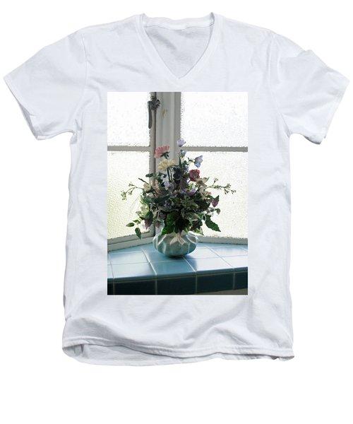 On The Window Men's V-Neck T-Shirt