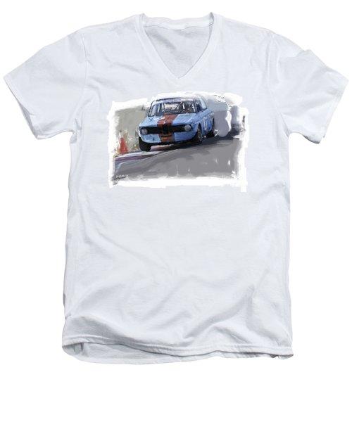On Track 2002 Men's V-Neck T-Shirt