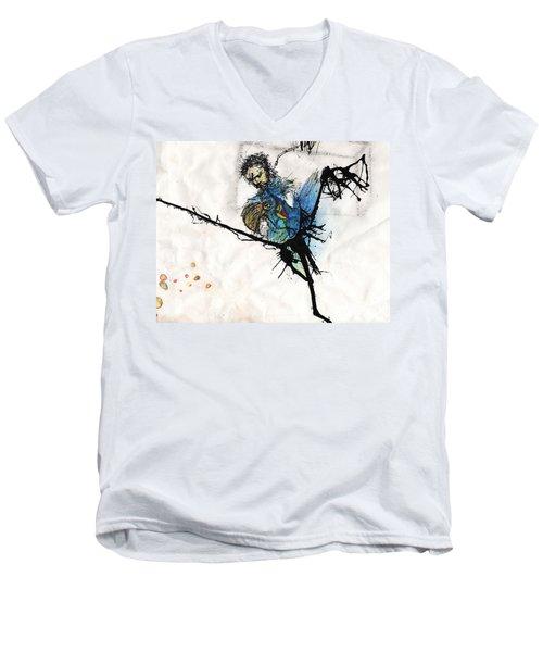 Once More Men's V-Neck T-Shirt