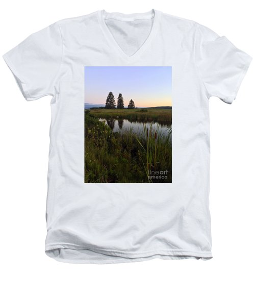 Once Upon A Time... Men's V-Neck T-Shirt by LeeAnn Kendall