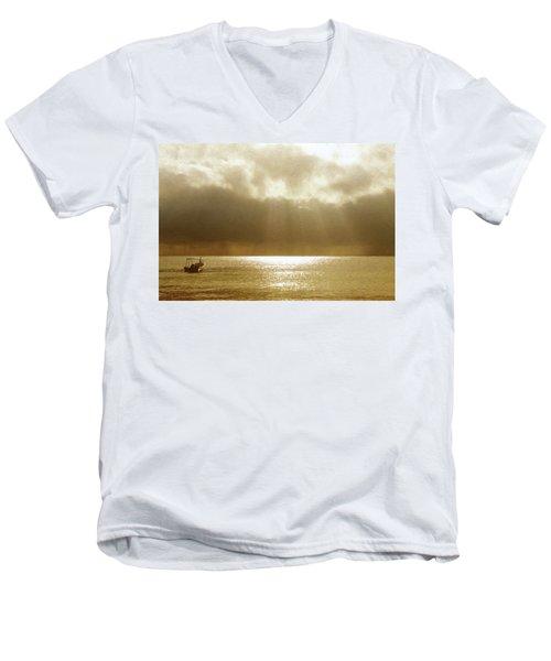 One Boat Men's V-Neck T-Shirt