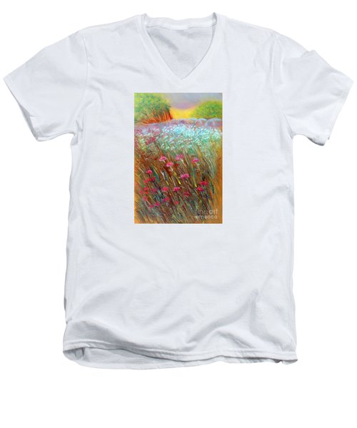 One Day In The Wild Men's V-Neck T-Shirt