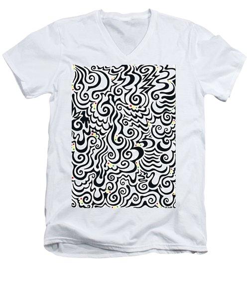 One Love Tribal Men's V-Neck T-Shirt