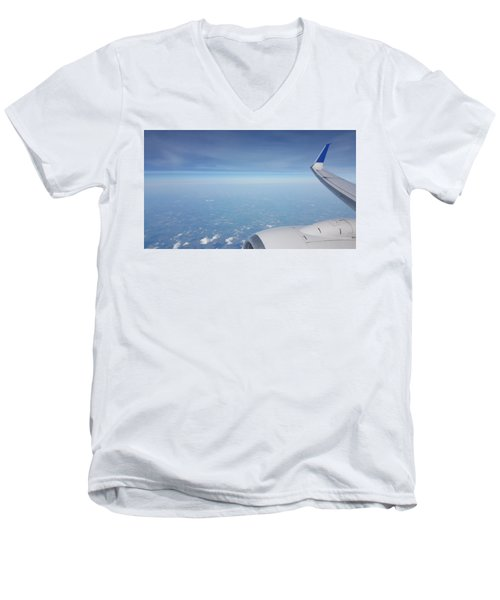 One Who Flies Men's V-Neck T-Shirt