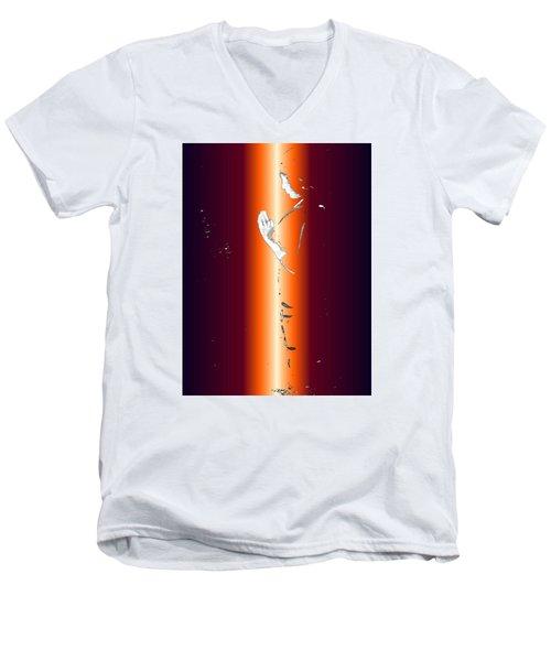 One With God Men's V-Neck T-Shirt