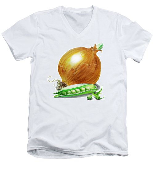 Onion And Peas Men's V-Neck T-Shirt
