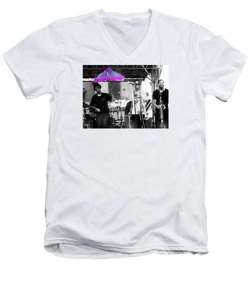 Only In Nola Men's V-Neck T-Shirt by Steve Archbold