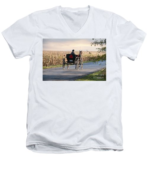 Open Road Open Buggy Men's V-Neck T-Shirt