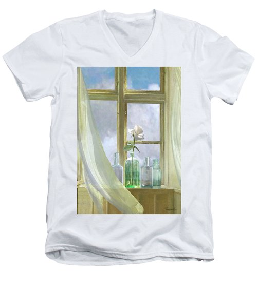 Open Window Men's V-Neck T-Shirt