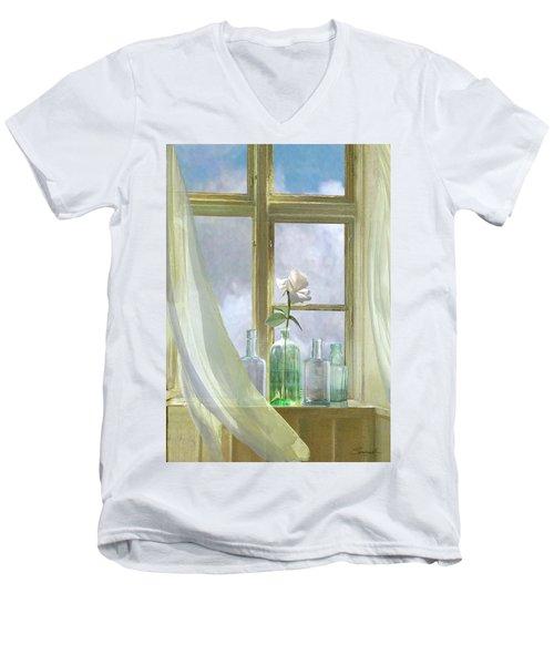 Open Window Men's V-Neck T-Shirt