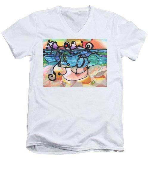 Optimism Men's V-Neck T-Shirt