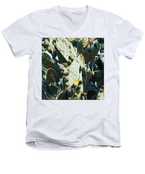 Opuntia Ficus Men's V-Neck T-Shirt
