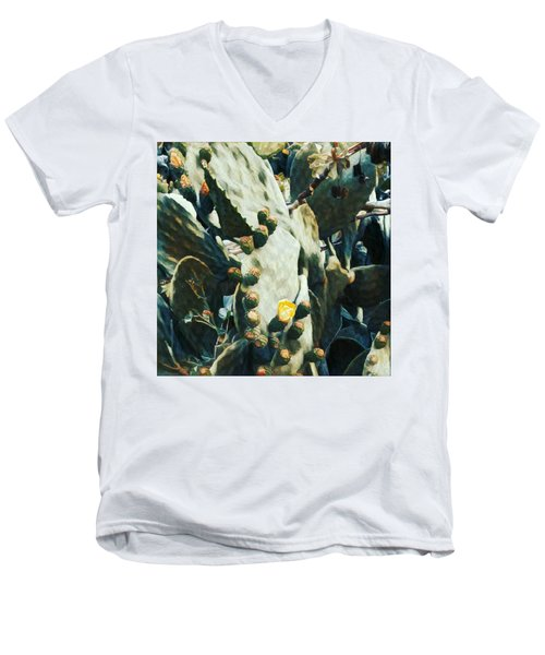 Opuntia Ficus Men's V-Neck T-Shirt