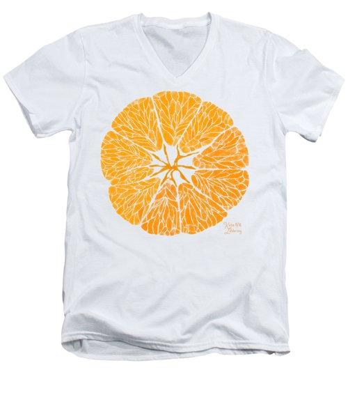 Orange You Glad Men's V-Neck T-Shirt