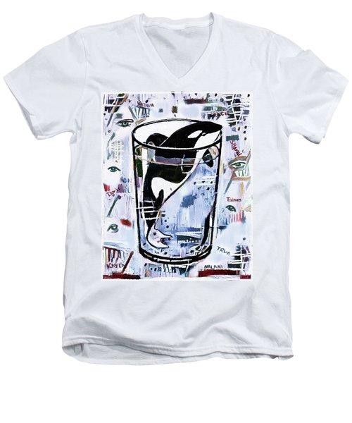 Orca #1 Men's V-Neck T-Shirt