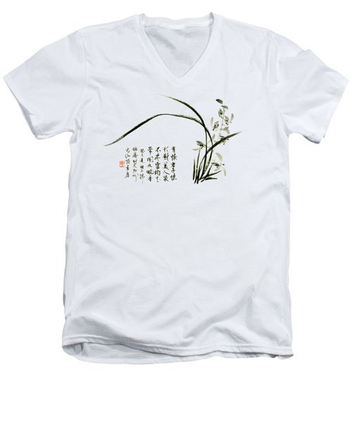 Orchid - 59 Men's V-Neck T-Shirt