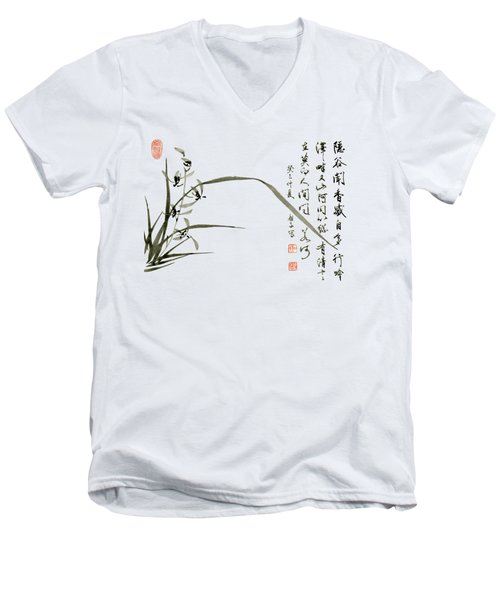 Orchid - 61 Men's V-Neck T-Shirt