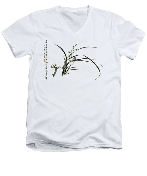 Orchid - 62 Men's V-Neck T-Shirt